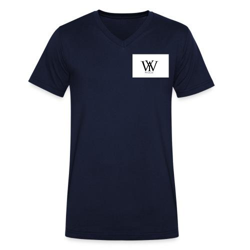 wezy jpg - Männer Bio-T-Shirt mit V-Ausschnitt von Stanley & Stella