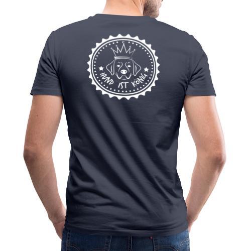 HUND IST KÖNIG - Brand - Männer Bio-T-Shirt mit V-Ausschnitt von Stanley & Stella