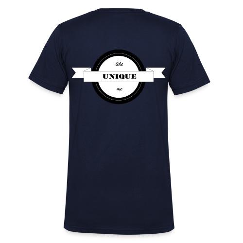 T Shirts - Männer Bio-T-Shirt mit V-Ausschnitt von Stanley & Stella