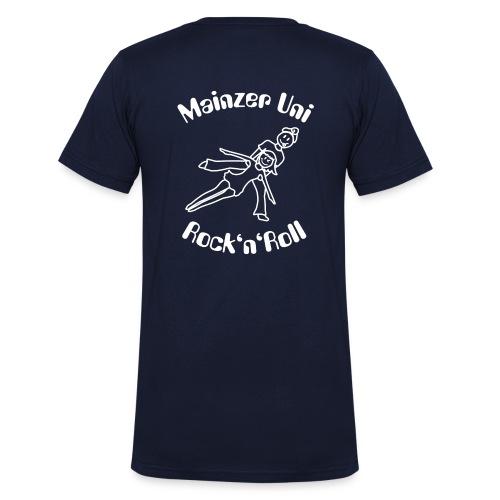MainzerUniRnR Antonia weiss - Männer Bio-T-Shirt mit V-Ausschnitt von Stanley & Stella