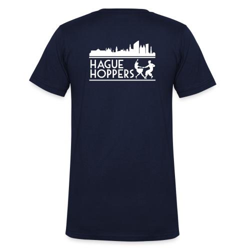 HH white logo back - Mannen bio T-shirt met V-hals van Stanley & Stella