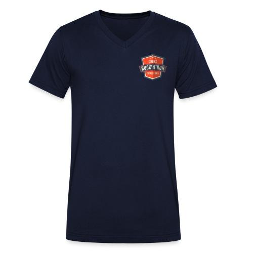Rock n Run - Männer Bio-T-Shirt mit V-Ausschnitt von Stanley & Stella