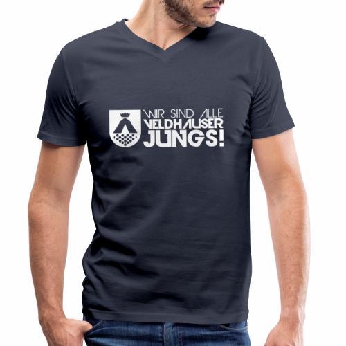wappen jungs - Männer Bio-T-Shirt mit V-Ausschnitt von Stanley & Stella