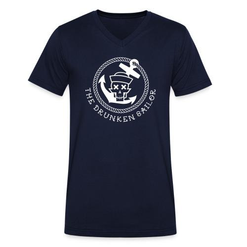 Drunken Sailor Alarm - Rang Skipper - Männer Bio-T-Shirt mit V-Ausschnitt von Stanley & Stella