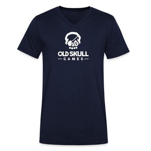 OldSkullGames_Logo2016_Sq - T-shirt bio col V Stanley & Stella Homme