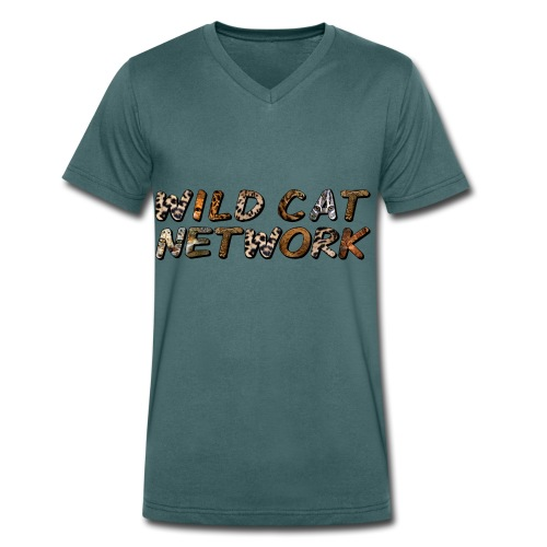 WildCatNetwork 1 - Men's Organic V-Neck T-Shirt by Stanley & Stella