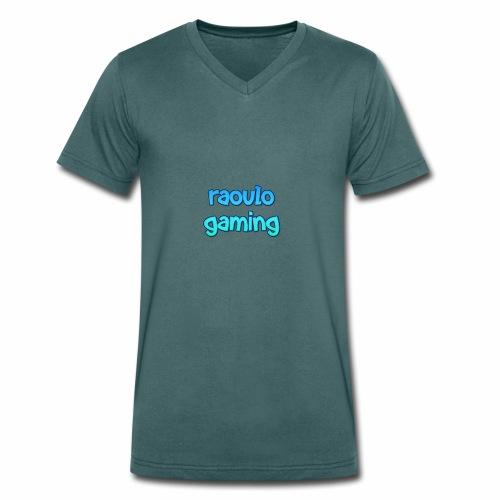 Kinder colectie raoulo gaming - Mannen bio T-shirt met V-hals van Stanley & Stella