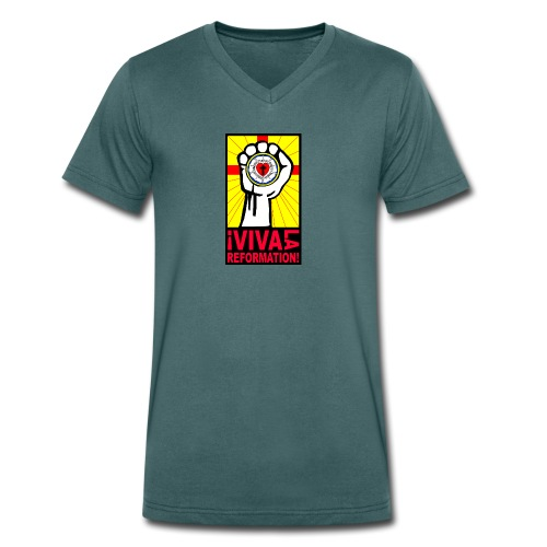 I viva la Reformation_EvDekJu_NEA - Männer Bio-T-Shirt mit V-Ausschnitt von Stanley & Stella