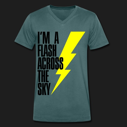 My Name Is THUNDER - T-shirt ecologica da uomo con scollo a V di Stanley & Stella
