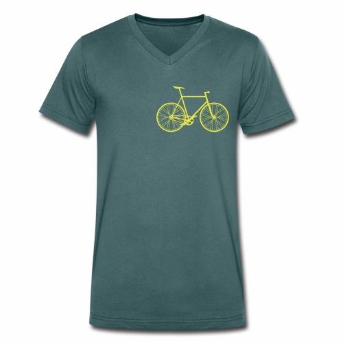 Singlespeed - Männer Bio-T-Shirt mit V-Ausschnitt von Stanley & Stella