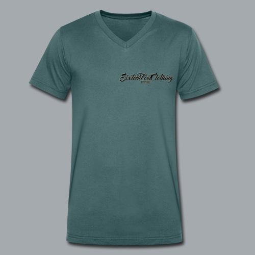 SixteenFootClothing EST 2018 - Men's Organic V-Neck T-Shirt by Stanley & Stella