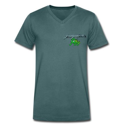 grasshopper189 Logo - Männer Bio-T-Shirt mit V-Ausschnitt von Stanley & Stella
