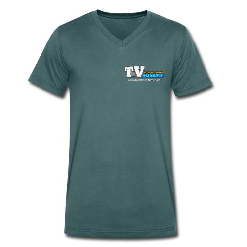 TVROSBACH Logo Vorne - Männer Bio-T-Shirt mit V-Ausschnitt von Stanley & Stella