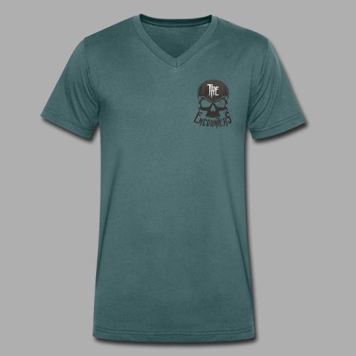 The Encounters Totenkopf - Männer Bio-T-Shirt mit V-Ausschnitt von Stanley & Stella