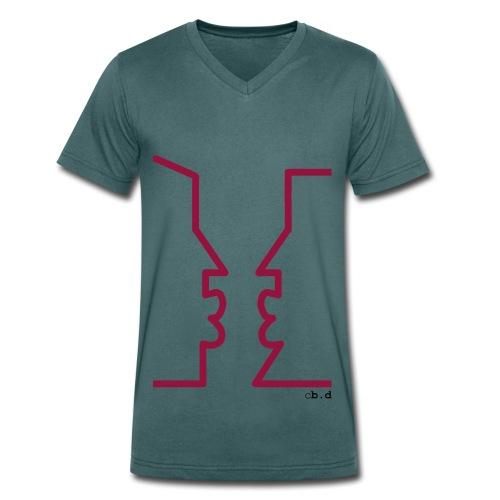 Pride - T-shirt ecologica da uomo con scollo a V di Stanley & Stella