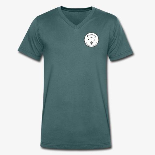 Adventurous Globetrotter - T-shirt bio col V Stanley & Stella Homme
