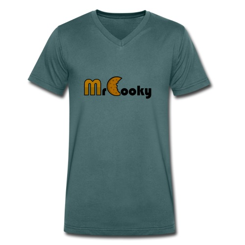MrCooky Merch - Männer Bio-T-Shirt mit V-Ausschnitt von Stanley & Stella