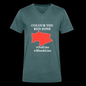 Colour the red Zone - Männer Bio-T-Shirt mit V-Ausschnitt von Stanley & Stella