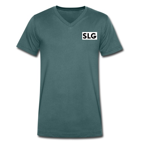slg - Men's Organic V-Neck T-Shirt by Stanley & Stella