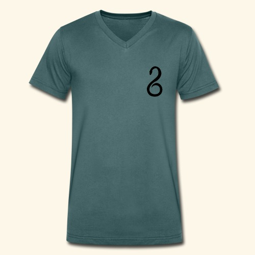 Slytherin Crest Logo - Men's Organic V-Neck T-Shirt by Stanley & Stella