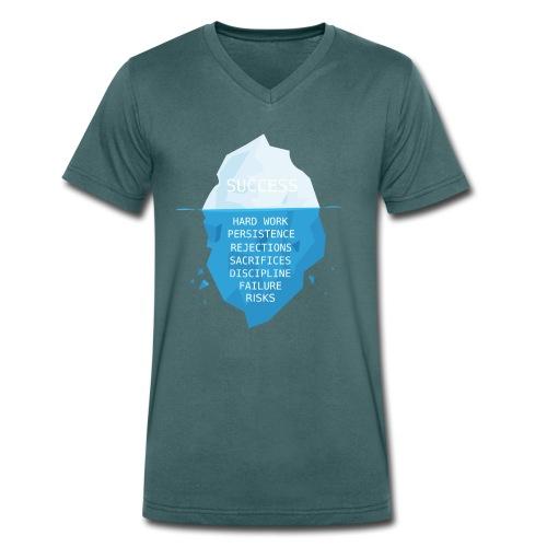 Success - T-shirt ecologica da uomo con scollo a V di Stanley & Stella