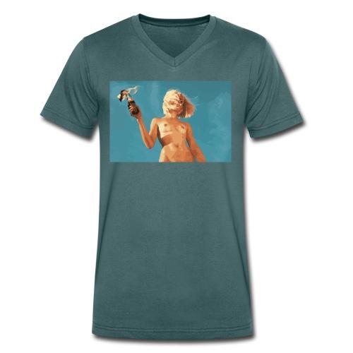 Molotov - Männer Bio-T-Shirt mit V-Ausschnitt von Stanley & Stella