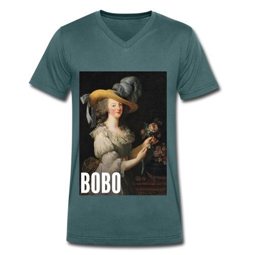 Marie Antoinette en mode bobo - T-shirt bio col V Stanley & Stella Homme