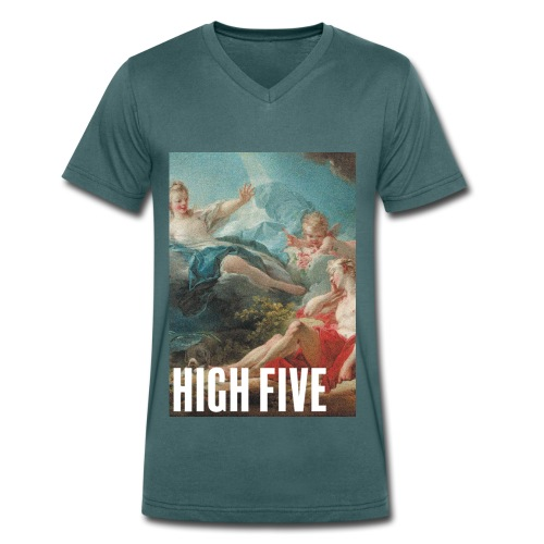 High Five - T-shirt bio col V Stanley & Stella Homme