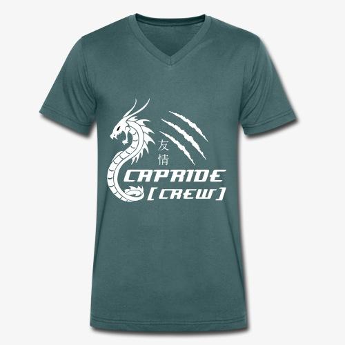 CaprideLogo - Männer Bio-T-Shirt mit V-Ausschnitt von Stanley & Stella