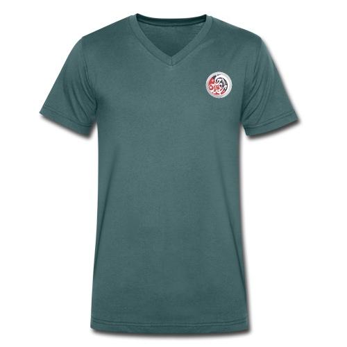 Dalel Almadeheen logo - Men's Organic V-Neck T-Shirt by Stanley & Stella