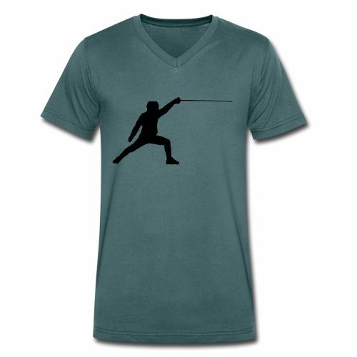 Fencer - Männer Bio-T-Shirt mit V-Ausschnitt von Stanley & Stella