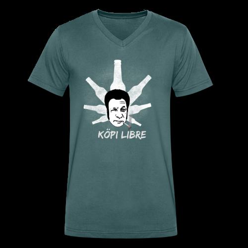 Jorge Edition - Männer Bio-T-Shirt mit V-Ausschnitt von Stanley & Stella