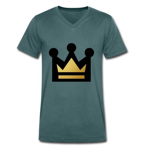 K1NG - Men's Organic V-Neck T-Shirt by Stanley & Stella