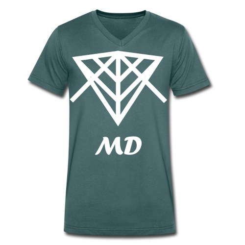 Musical Diversity - Camiseta ecológica hombre con cuello de pico de Stanley & Stella
