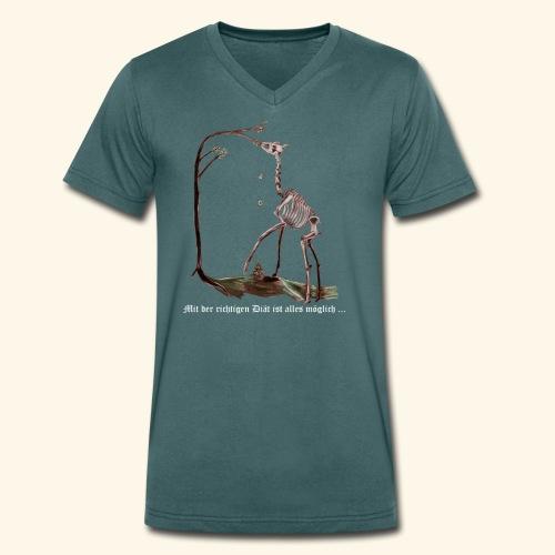 Mit der richtigen Diät ist alles möglich. - Männer Bio-T-Shirt mit V-Ausschnitt von Stanley & Stella