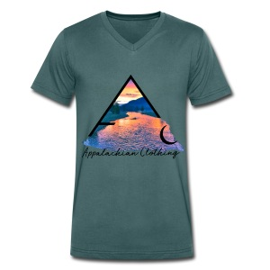 River- Technicolour Collection - Men's Organic V-Neck T-Shirt by Stanley & Stella