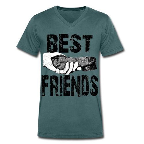 Hundeliebhaber,Hunde liebe,Hundefreunde,Hund,Hunde - Männer Bio-T-Shirt mit V-Ausschnitt von Stanley & Stella