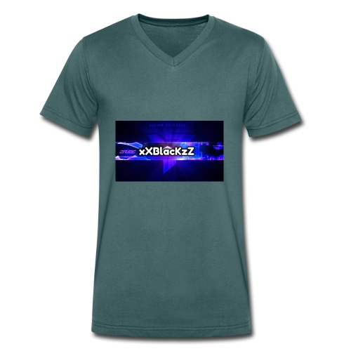 XxBlacKzZ - Männer Bio-T-Shirt mit V-Ausschnitt von Stanley & Stella