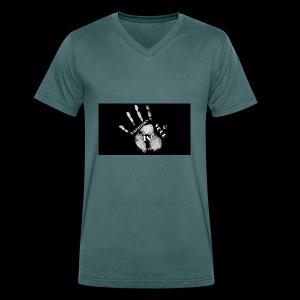 Calisthenics mano - T-shirt ecologica da uomo con scollo a V di Stanley & Stella