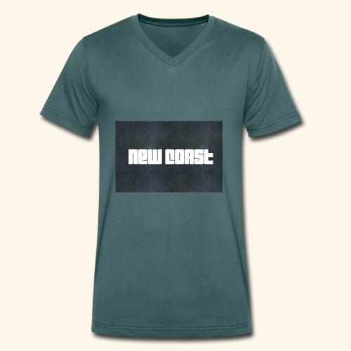 67BD2109 896A 43C2 A011 724421ED0341 - Männer Bio-T-Shirt mit V-Ausschnitt von Stanley & Stella