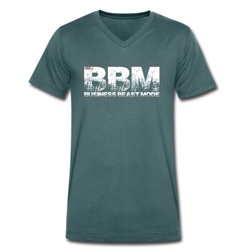 BBM - Business Beast Mod - Männer Bio-T-Shirt mit V-Ausschnitt von Stanley & Stella