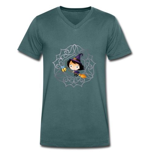BeeWitched Logo - Männer Bio-T-Shirt mit V-Ausschnitt von Stanley & Stella