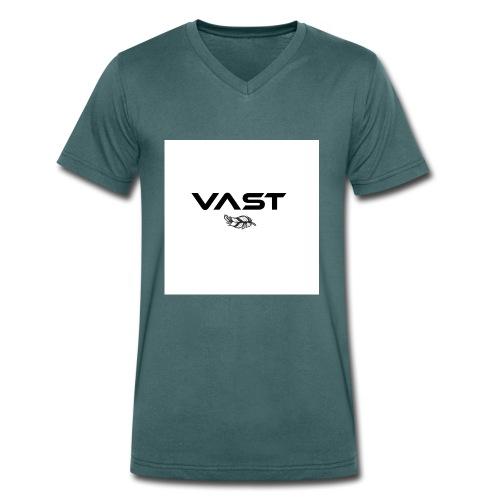 Vast Basic - Männer Bio-T-Shirt mit V-Ausschnitt von Stanley & Stella