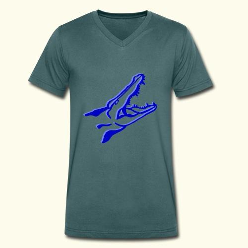 O.DD crocodile - T-shirt bio col V Stanley & Stella Homme