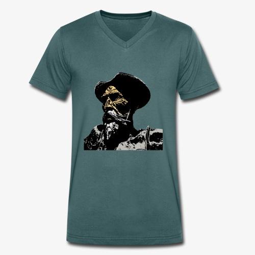 Don Quijote - Camiseta ecológica hombre con cuello de pico de Stanley & Stella