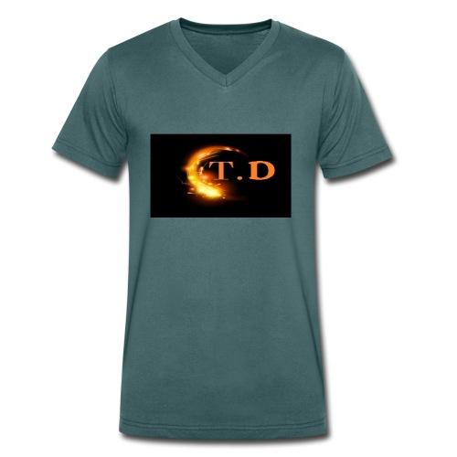 td - T-shirt bio col V Stanley & Stella Homme