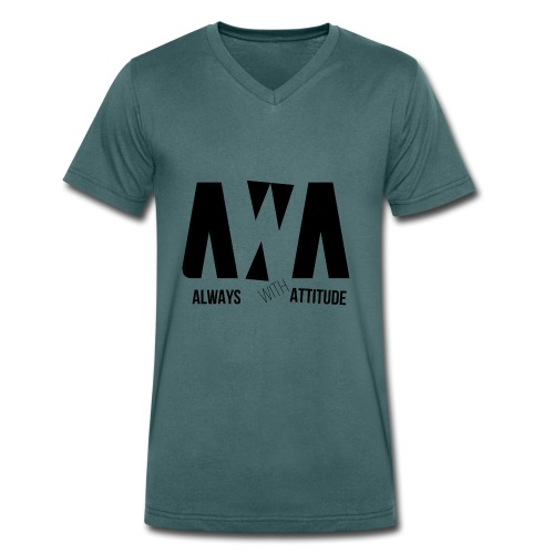 AWA B - Männer Bio-T-Shirt mit V-Ausschnitt von Stanley & Stella