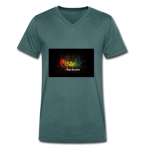 Peace Rap Studios - Männer Bio-T-Shirt mit V-Ausschnitt von Stanley & Stella