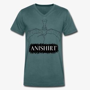 ANISHIRT CanCanBat - Men's Organic V-Neck T-Shirt by Stanley & Stella
