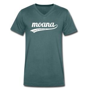 Moana retro logo - Mannen bio T-shirt met V-hals van Stanley & Stella